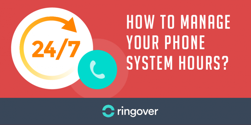 manage business phone hours