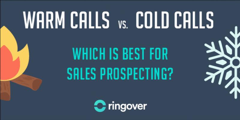 warm calls cold calls