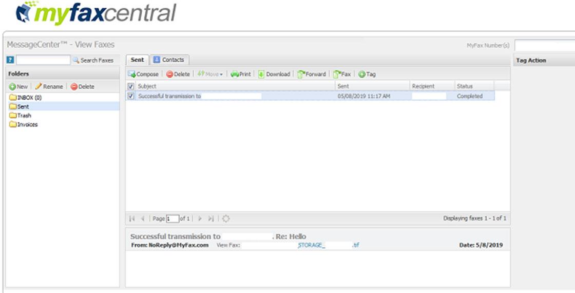 interface myfax