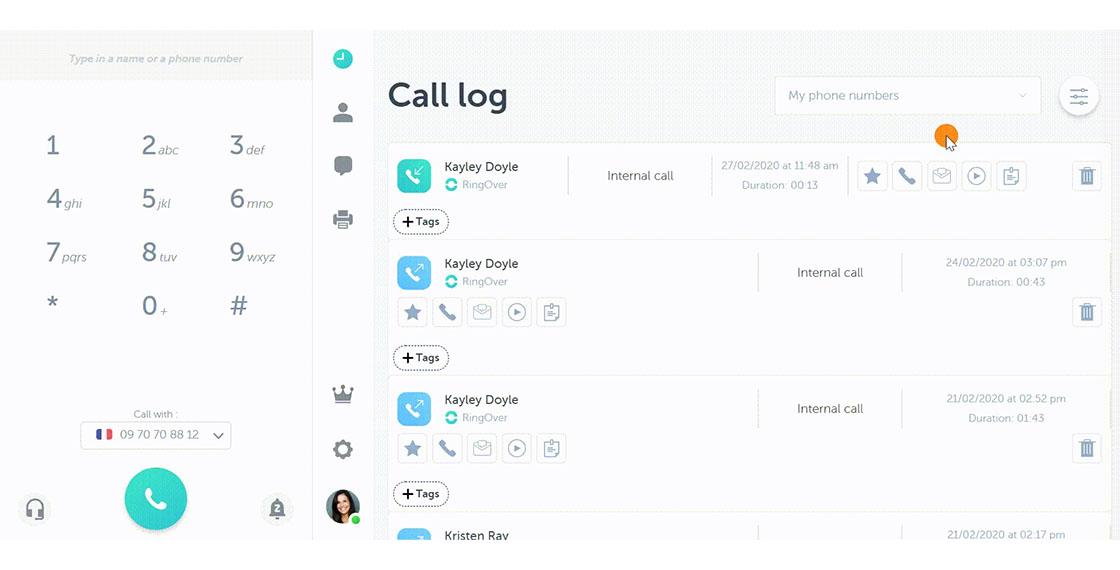 call-recording-dahsboard