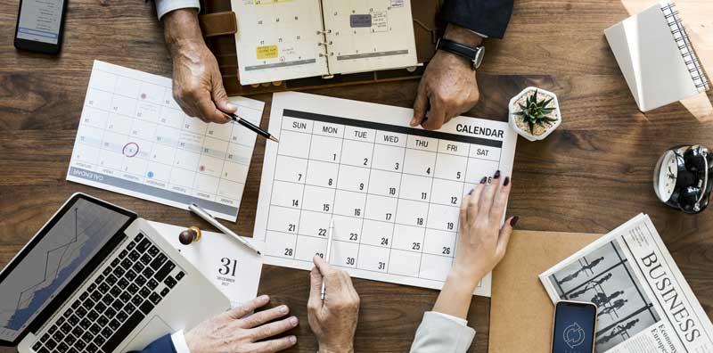 planification online calendar