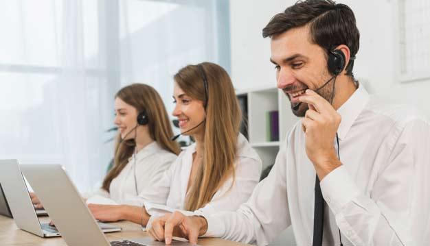 equipe service client