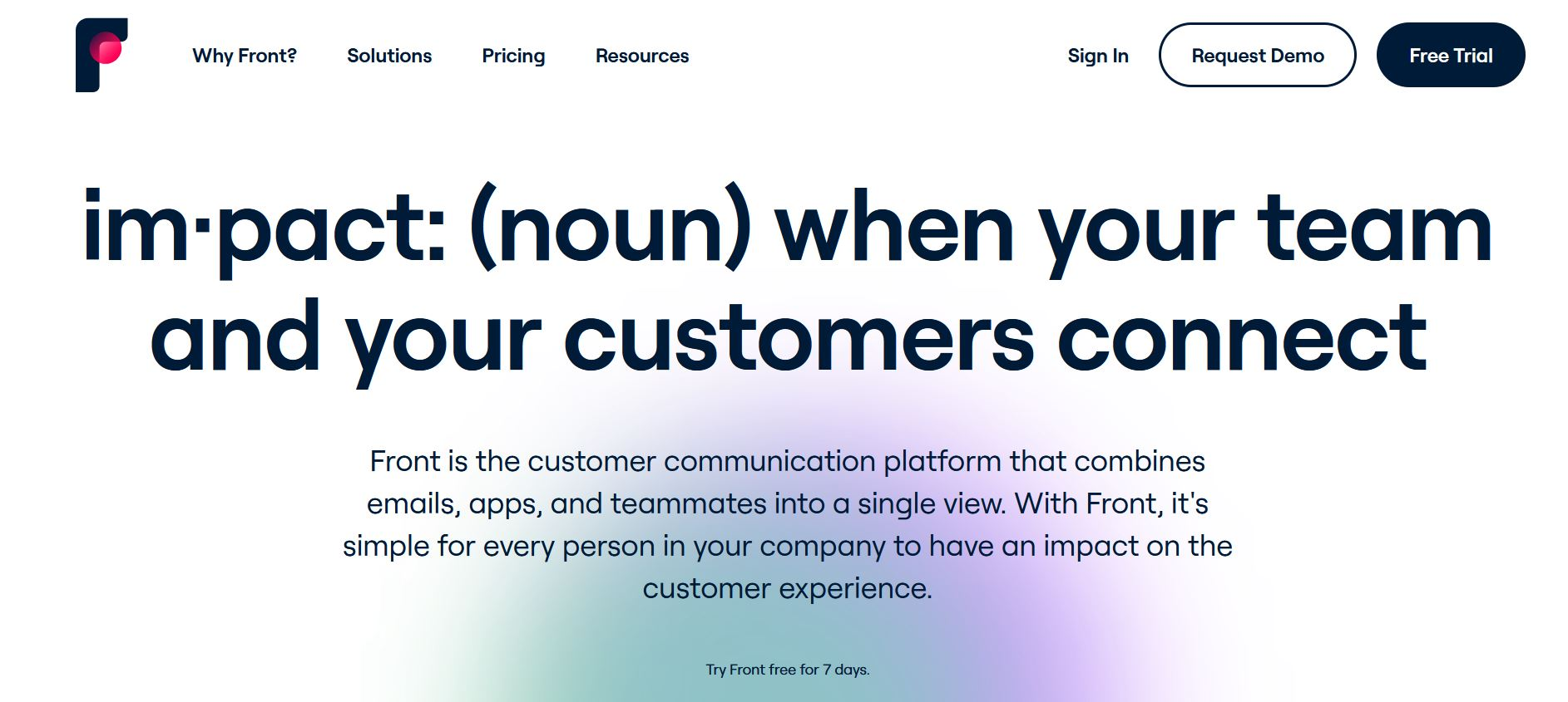 Front emails collaboratifs avec Salesforce