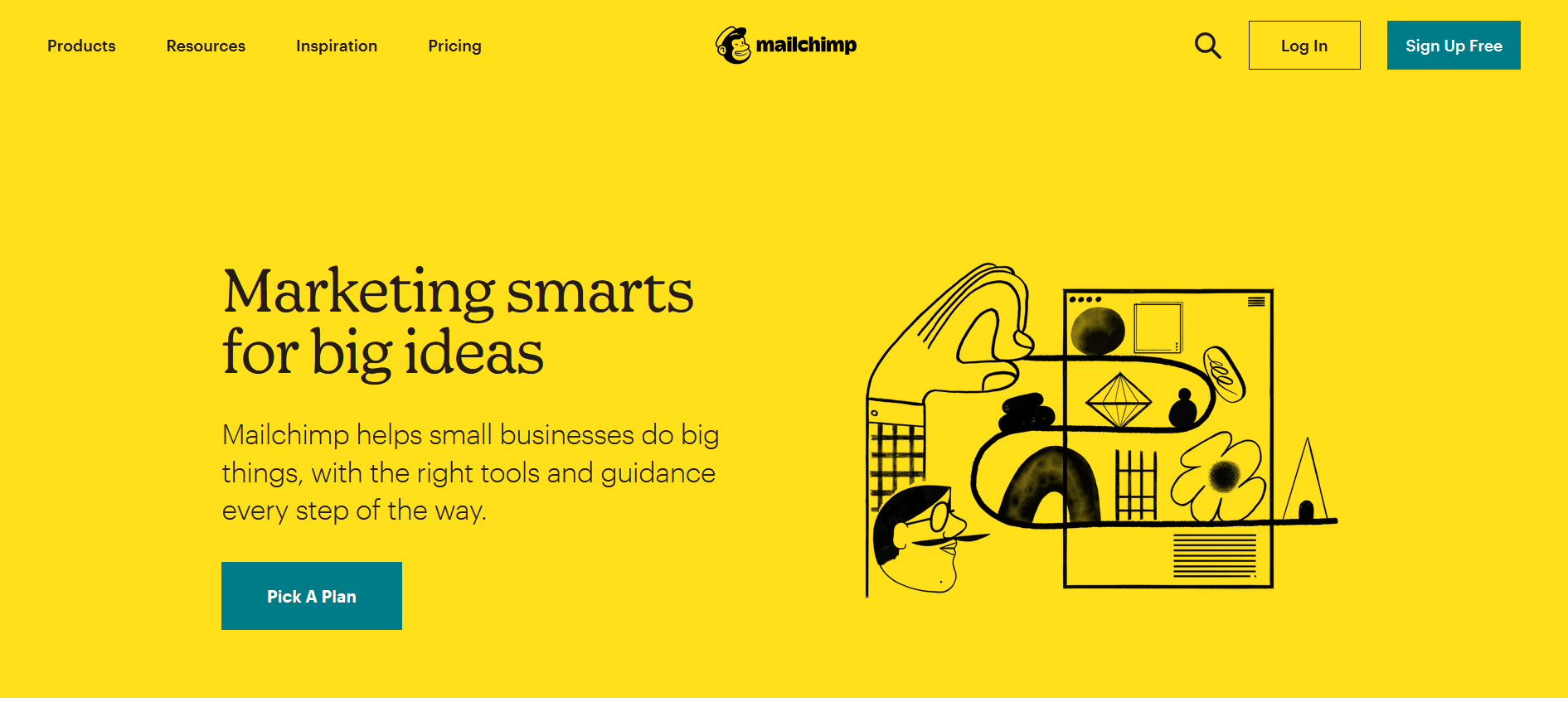 Mailchimp emailing avec salesforce