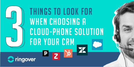 cloud phone solution for crm